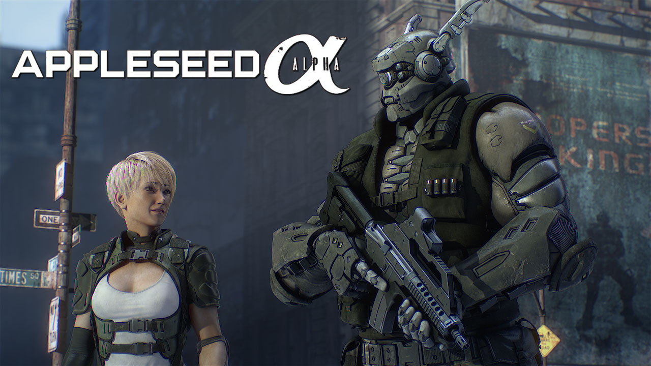 Appleseed Alpha Directed By Shinji Aramaki Available Today On Blu Ray And Dvd Prnordic
